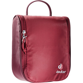 Deuter Wash Center I Bolsa Neceser Baño, cranberry-maron